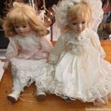 Muñecas Porcelana: LOTE DE 12 MUÑECAS DE PORCELANA. Lote 242085670
