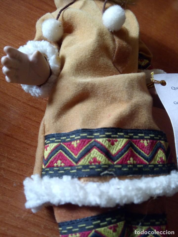 Muñecas Porcelana: MUÑECA ESQUIMAL PORCELANA / MUÑECA INDIA - Foto 4 - 242952745