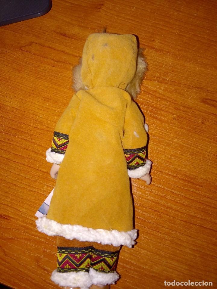 Muñecas Porcelana: MUÑECA ESQUIMAL PORCELANA / MUÑECA INDIA - Foto 7 - 242952745