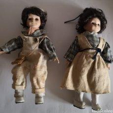 Muñecas Porcelana: PAREJA MUÑECOS PORCELANA MARCA N° 6626. Lote 244617745