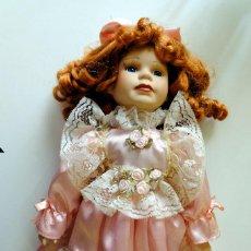 Muñecas Porcelana: MUÑECA DE PORCELANA 40 CM.. Lote 244894235