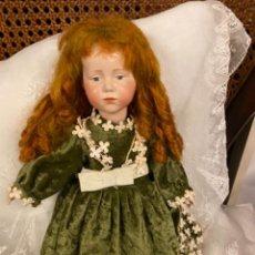 Muñecas Porcelana: BONITA MUÑECA EXTRANJERA PORCELANA. Lote 246510700