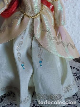 Muñecas Porcelana: ANTIGÜA MUÑECA PORCELANA OJOS PINTADOS VESTIDA DE PRINCESA - Foto 5 - 251043000