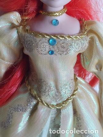 Muñecas Porcelana: ANTIGÜA MUÑECA PORCELANA OJOS PINTADOS VESTIDA DE PRINCESA - Foto 6 - 251043000