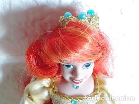 Muñecas Porcelana: ANTIGÜA MUÑECA PORCELANA OJOS PINTADOS VESTIDA DE PRINCESA - Foto 7 - 251043000