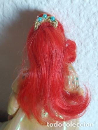 Muñecas Porcelana: ANTIGÜA MUÑECA PORCELANA OJOS PINTADOS VESTIDA DE PRINCESA - Foto 8 - 251043000