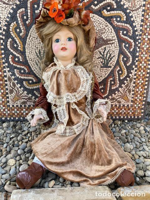 MUÑECA DE PORCELANA ANTIGUA.VER FOTOS, EN PERFECTO ESTADO.(4,31 ENVÍO CERTIFICADO) (Juguetes - Muñeca Extranjera Moderna - Porcelana)