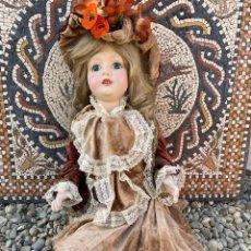 Muñecas Porcelana: MUÑECA DE PORCELANA ANTIGUA.VER FOTOS, EN PERFECTO ESTADO.(4,31 ENVÍO CERTIFICADO). Lote 251865105
