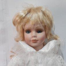 Muñecas Porcelana: MUÑECA DE PORCELANA ,40 CM. VER FOTOS.. Lote 253852255