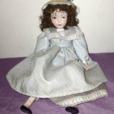 Muñecas Porcelana: ANTIGUA MUÑECA DE PORCELANA DE CALIDAD. 40 CM. Lote 254064790