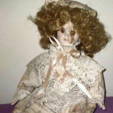 Muñecas Porcelana: ANTIGUA MUÑECA DE PORCELANA DE CALIDAD.. Lote 254066800