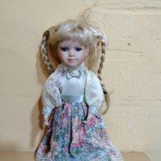 Muñecas Porcelana: ANTIGUA MUÑECA PARA COLECCIÓN DE POCELANA MARCA ANCO. Lote 255013030