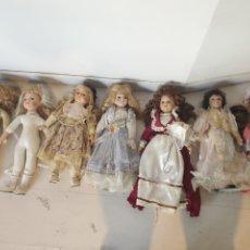Poupées Porcelaine: LOTE 7 MUÑECAS DE PORCELANA THE CLASSIQUE COLLECTION. Lote 255349145