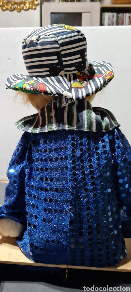 Muñecas Porcelana: Curiosiosa figura grande de un precioso payaso. - Foto 7 - 257401530