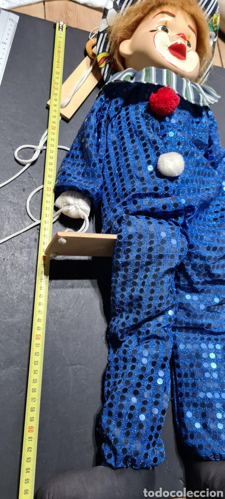 Muñecas Porcelana: Curiosiosa figura grande de un precioso payaso. - Foto 9 - 257401530