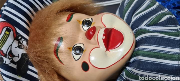 Muñecas Porcelana: Curiosiosa figura grande de un precioso payaso. - Foto 10 - 257401530