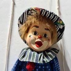 Muñecas Porcelana: CURIOSIOSA FIGURA GRANDE DE UN PRECIOSO PAYASO.. Lote 257401530