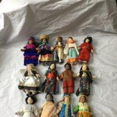 Poupées Porcelaine: LOTE MUÑECAS DE PORCELANA ANTIGUAS - VER FOTOS. Lote 257908445