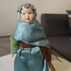 Muñecas Porcelana: MUÑECAS DEL MUNDO DE PORCELANA RBA - VESTIDO ETNICO TRADICIONAL DE TUNEZ. Lote 258110120