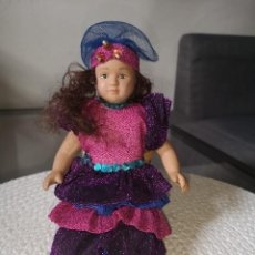 Muñecas Porcelana: MUÑECAS DEL MUNDO DE PORCELANA RBA - VESTIDO ETNICO TRADICIONAL DE BRASIL. Lote 258167045
