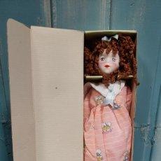 Muñecas Porcelana: BONITA MUÑECA DE PORCELANA TANAS. Lote 259779190