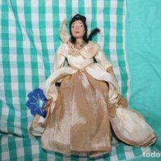 Muñecas Porcelana: MUÑECA PRINCESA DISNEY POCAHONTAS PORCELANA COLECCIÓN. Lote 260340055
