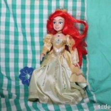 Muñecas Porcelana: MUÑECA PRINCESA DISNEY ARIEL PORCELANA COLECCIÓN. Lote 260341205