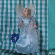 Muñecas Porcelana: MUÑECA PRINCESA DISNEY HADA PINOCHO PORCELANA COLECCIÓN. Lote 260342660