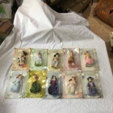 Muñecas Porcelana: LOTE DE 10 MUÑECAS KENSINGTON COLLECTION EN SUS CAJAS SIN ABRIR. Lote 263280080