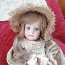 Muñecas Porcelana: MUÑECA DE PORCELANA DEL ESCULTOR RAMÓN INGLÉS. FIRMA JR.. Lote 266731433