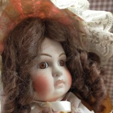 Muñecas Porcelana: MUÑECA TETE JUMEAU REPRO. Lote 266937034