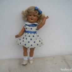 Muñecas Porcelana: PRECIOSA MUÑECA SHIRLEY TEMPLE. AÑOS 40 CM. AÑOS 40-50. Lote 267372649