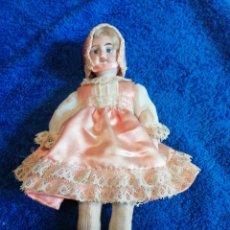 Muñecas Porcelana: MUÑECA DE PORCELANA ANTIGUA. Lote 267462539