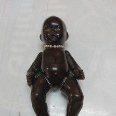 Bambole Porcellana: ANTIGUO MUÑECO NEGRITO DE CERAMICA SELLADO 16 TC. Lote 267546029