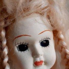 Bonecas Porcelana: MUÑECA PORCELANA - 42.CM ALTO. Lote 267639979