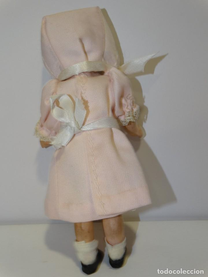 Muñecas Porcelana: MUÑECA ANTIGUA PORCELANA Y CARTÓN PIEDRA OJOS VIDRIADOS PAT Nº 10 MIDE 20 CM - Foto 2 - 268451374