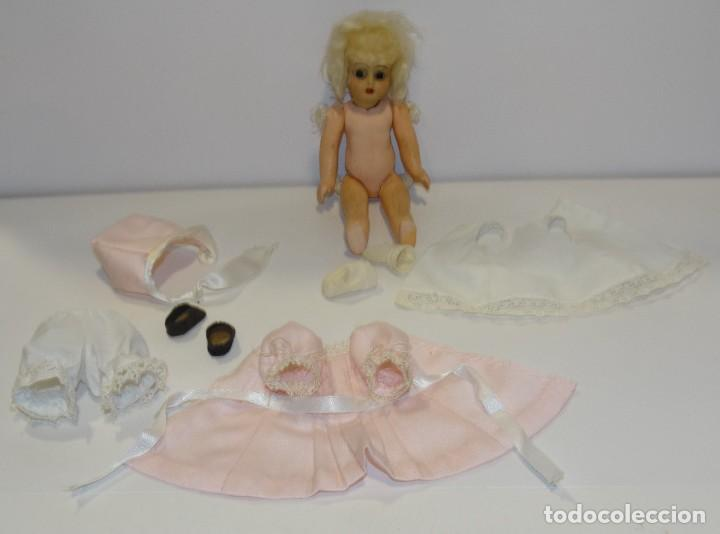 Muñecas Porcelana: MUÑECA ANTIGUA PORCELANA Y CARTÓN PIEDRA OJOS VIDRIADOS PAT Nº 10 MIDE 20 CM - Foto 10 - 268451374