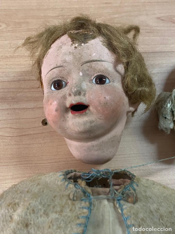 Muñecas Porcelana: ANTIGUA MUÑECA DE PORCELANA CON VESTIDO ORIGINAL - Foto 2 - 268586979
