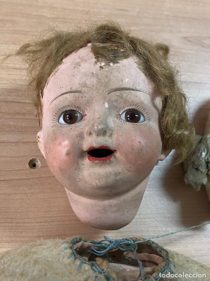 Muñecas Porcelana: ANTIGUA MUÑECA DE PORCELANA CON VESTIDO ORIGINAL - Foto 3 - 268586979