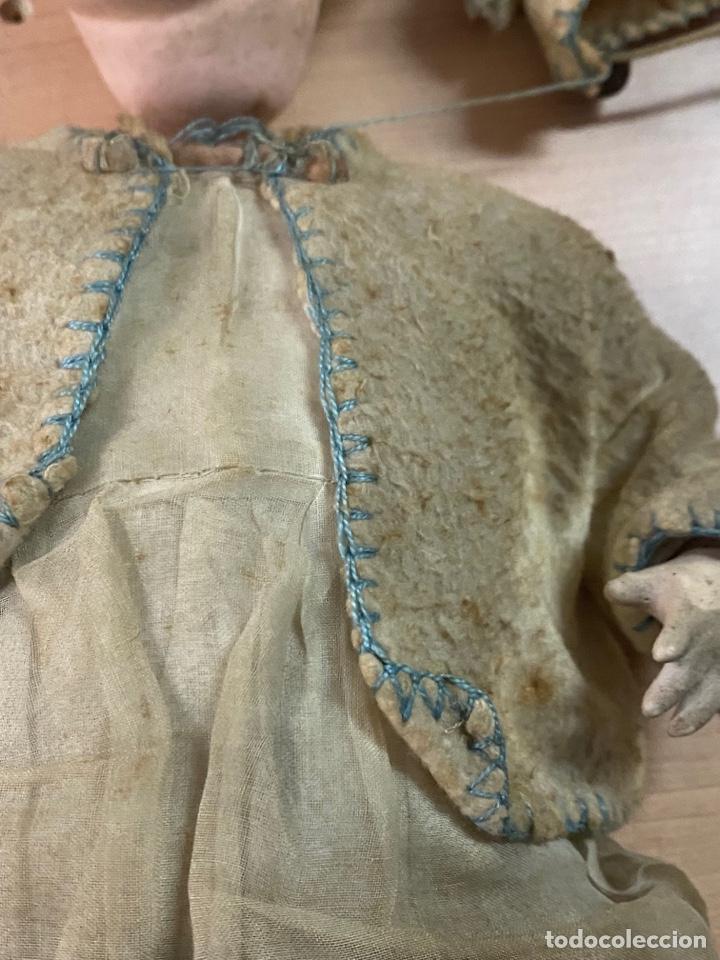 Muñecas Porcelana: ANTIGUA MUÑECA DE PORCELANA CON VESTIDO ORIGINAL - Foto 5 - 268586979