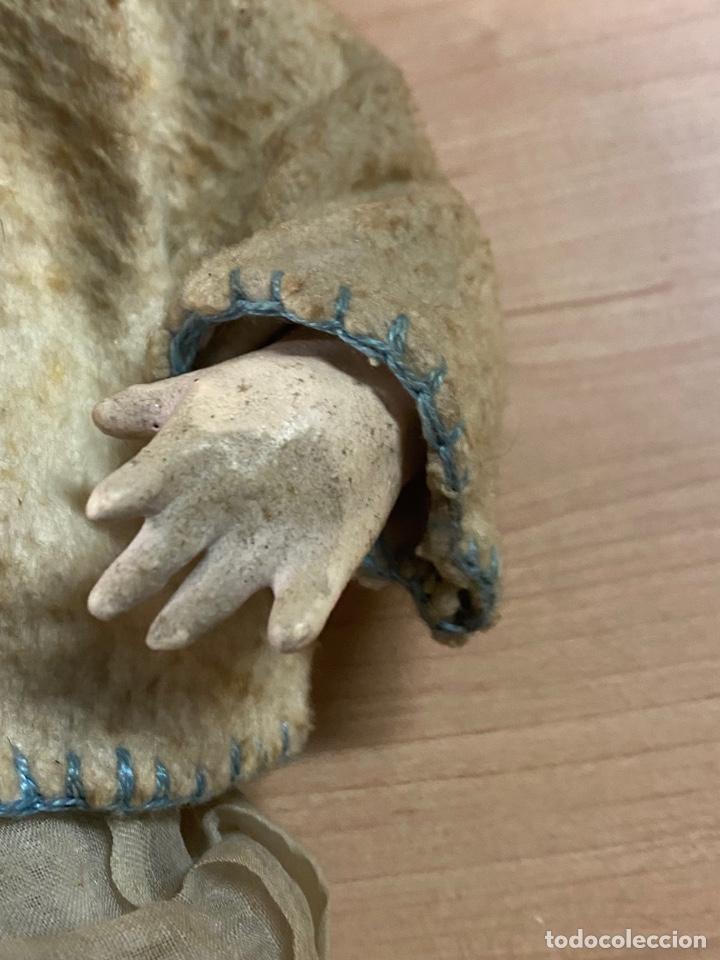 Muñecas Porcelana: ANTIGUA MUÑECA DE PORCELANA CON VESTIDO ORIGINAL - Foto 6 - 268586979