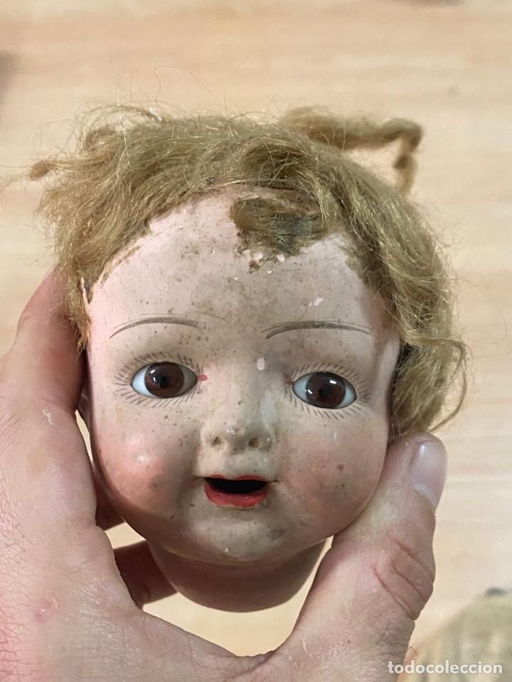 Muñecas Porcelana: ANTIGUA MUÑECA DE PORCELANA CON VESTIDO ORIGINAL - Foto 14 - 268586979
