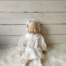 Muñecas Porcelana: MUÑECO ANTIGUO 3 CARAS. Lote 269008399