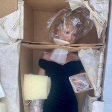 Bonecas Porcelana: MUÑECA PRINCESA DE GALÉS LADY DI DE PORCELANA INGLESA EDICIÓN LIMITADA 47CM. Lote 273367793
