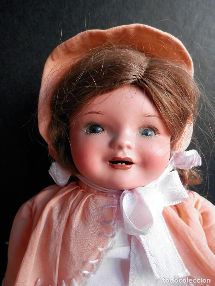Muñecas Porcelana: BONITA MUÑECA MUY ANTIGUA CABEZA PORCELANA CON MARCA 35 CENTÍMETROS MUY BIEN CONSERVADA - Foto 2 - 275658953