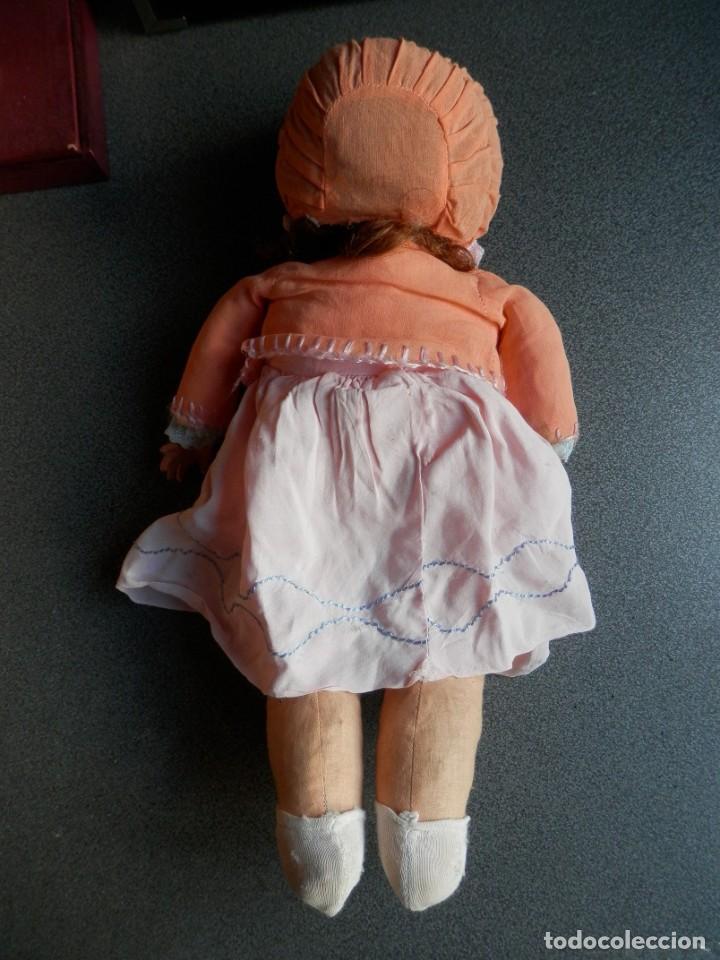 Muñecas Porcelana: BONITA MUÑECA MUY ANTIGUA CABEZA PORCELANA CON MARCA 35 CENTÍMETROS MUY BIEN CONSERVADA - Foto 7 - 275658953