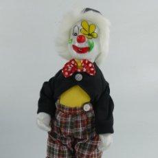 Bonecas Porcelana: MUÑECO PAYASO PORCELANA Y TELA. Lote 275726958