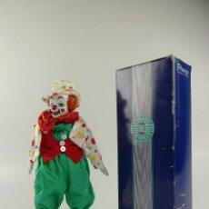 Bonecas Porcelana: PAYASO DE PORCELANA PARADE OF DOLLS COLLECTION EN CAJA. Lote 275731718
