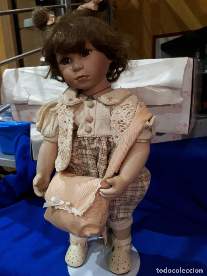 Muñecas Porcelana: MUñECA ANTIGUA PORCELANA COLECCION - Foto 7 - 276369553