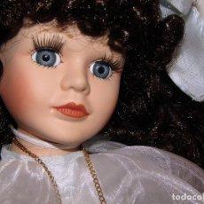 Muñecas Porcelana: DIANA - ANTIGUA MUÑECA DE PORCELANA - NUEVA A ESTRENAR Y EN SU CAJA ORIGINAL - 43CM. Lote 276476353